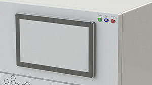 Mingyike 15-inch Windows touch all-in-one computer is applied in CNC automation equipment
