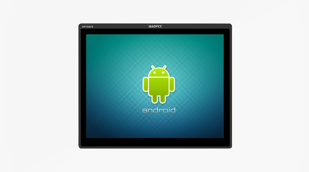 Android touch all-in-one 10.4 inches